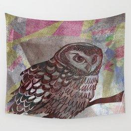 Bird Screenprint Wall Tapestry