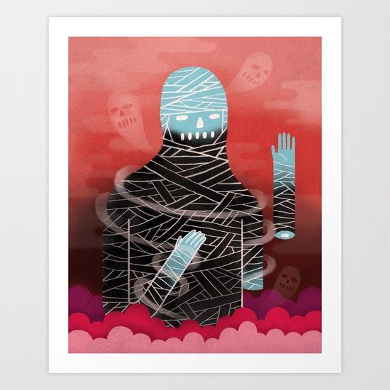 Phantom Limb Art Print