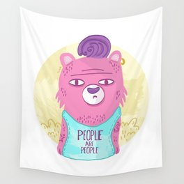 Bears No Fears Wall Tapestry