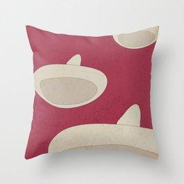 "DISNEY's ""The Three Caballeros"" - Minimal Movie Poster Throw Pillow"