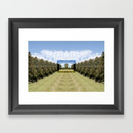 As We Enter Framed Art Print