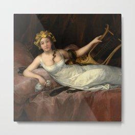 """Francisco Goya """"La Marquesa de Santa Cruz (The Marquise de Santa Cruz)"""" Metal Print"""