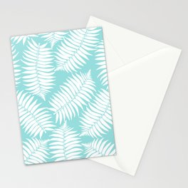 White Leaf Stationery Cards