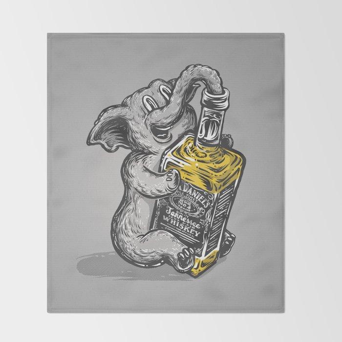 Drunk Elephant Throw Blanket