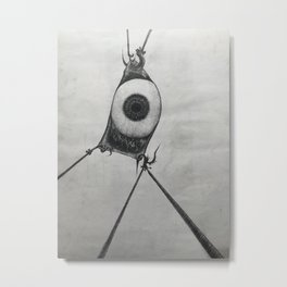 Eye anchor Metal Print