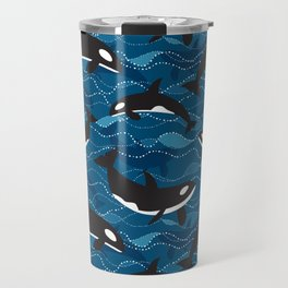 Deep Sea Orca Travel Mug