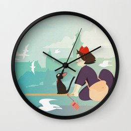 Delivery Service Wall Clock