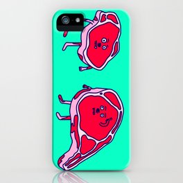 Meat meet Meat iPhone Case