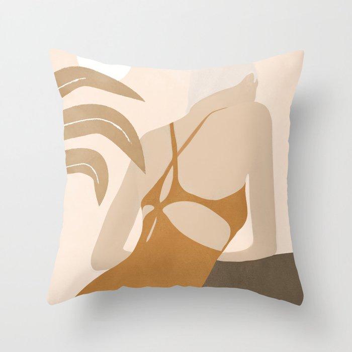 Summer Day III Throw Pillow