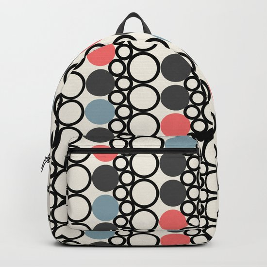 circle pattern Backpack