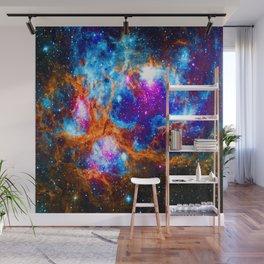 Cosmic Winter Wonderland Wall Mural