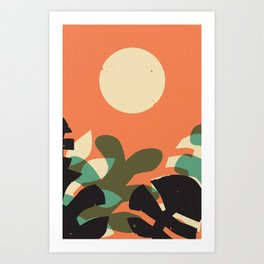 Jungle Sun #2 Art Print