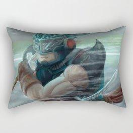 Ninja futur Rectangular Pillow