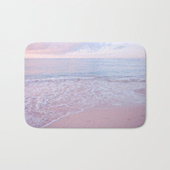 calm day 02 ver.pink Bath Mat