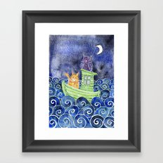 The Owl & The Pussycat Framed Art Print