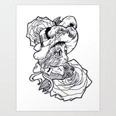 Coquet Art Print