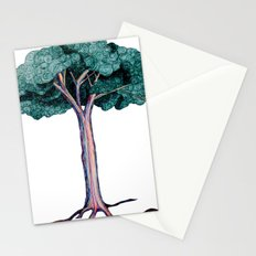 Spiral Tree Stationery Cards