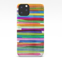 Colorful Stripes 1 iPhone Case
