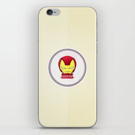 Iron Man iPhone Skin