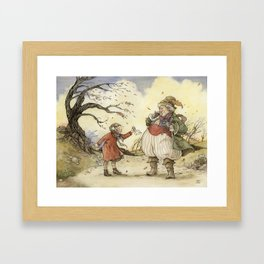 Sneeze Framed Art Print