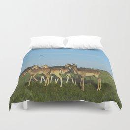 Oh Deer (Artistic/Alternative) Duvet Cover