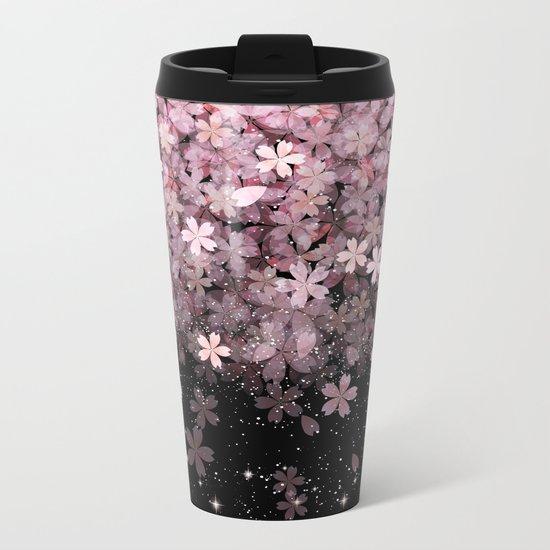 Cherry blossom #11 Metal Travel Mug