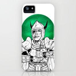 Clovis, the Undead Warrior Queen of Green Falls Tomb iPhone Case