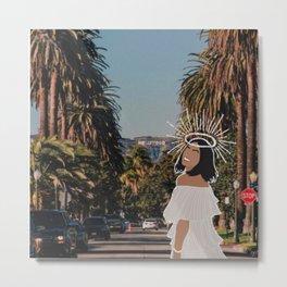 angel in LA Metal Print