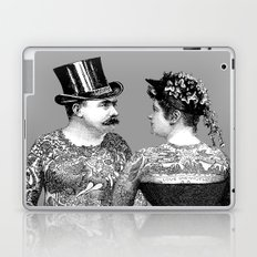 Tattooed Victorian Lovers Laptop & iPad Skin