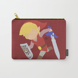 Toon Link(Smash)Red Carry-All Pouch