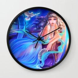 Sleepless Nights-Cinderella Wall Clock