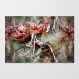 Echoes of Lilies Canvas Print