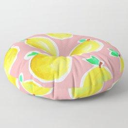 Lemon Crush 2 Floor Pillow