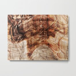 Mahogany Metal Print