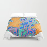 cracked Duvet Covers featuring Cracked by Carrollskitchen on youtube