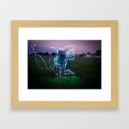 Devil Shark W/JMR1 Framed Art Print