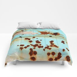 Riddled with Rust Original Comforters