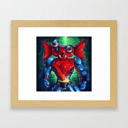 POPEYES Framed Art Print