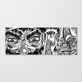 Raging Mario Canvas Print