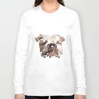bulldog Long Sleeve T-shirts featuring Bulldog by Glen Gould