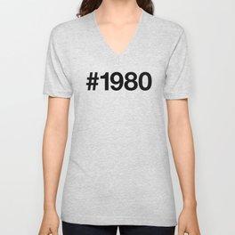 1980 Unisex V-Neck