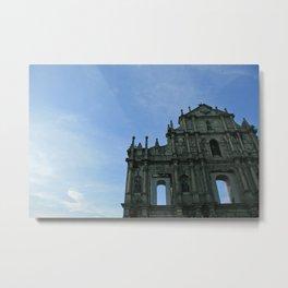 Macau's Ruins of St Paul's  Metal Print