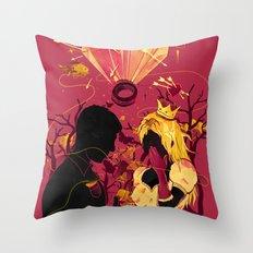 2 Hearts 2 Love Throw Pillow