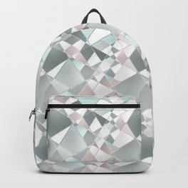 Abstract geometric pattern. Backpack