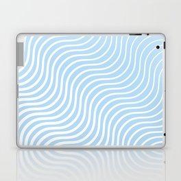 Whiskers Light Blue & White #285 Laptop & iPad Skin