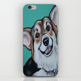 Wayne the Corgi iPhone Skin