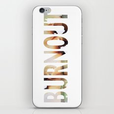 burnout iPhone & iPod Skin
