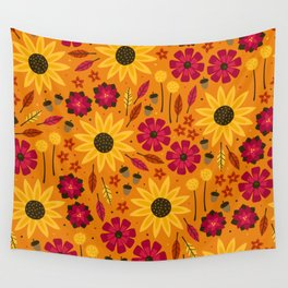 Fall is in th Air Wall Tapestry