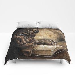 Skeleton Scribe Comforters