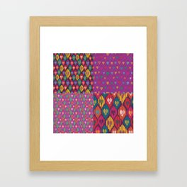 Uzbekistan Framed Art Print